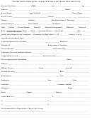 Information Needed For: Newspaper, Obituary & Death Certificate