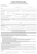 Patient Information Sheet
