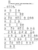 Polka Dots And Moonbeams (bar) Chord Chart