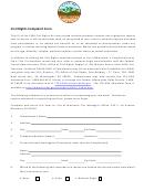 Civil Rights Complaint Form