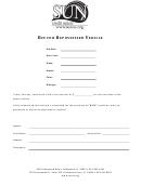 Bid For Repossessed Vehicle