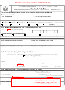 Form Ac 3237 (substitute Form W-9) - Request For Taxpayer Identification Number & Certification - New York State Office Of The State Comptroller
