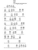 Pennies From Heaven(bar)-eb Chord Chart