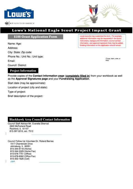 Top Lowes Application Form Templates free to download in PDF, Word ...