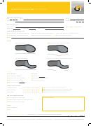 Prescription Form Footplate