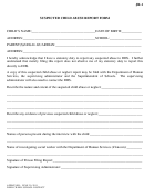 suspected child mistreat record form