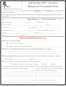 Als Society Of Bc Assistive Equipment Prescription Form