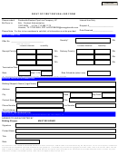 Right Of First Refusal Bid Form