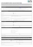 Uts Documents Proxy Collection Form