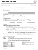 Animal License Application - Department Of Animal Control Services