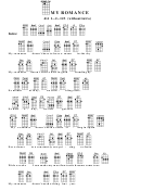 My Romance Chord Chart
