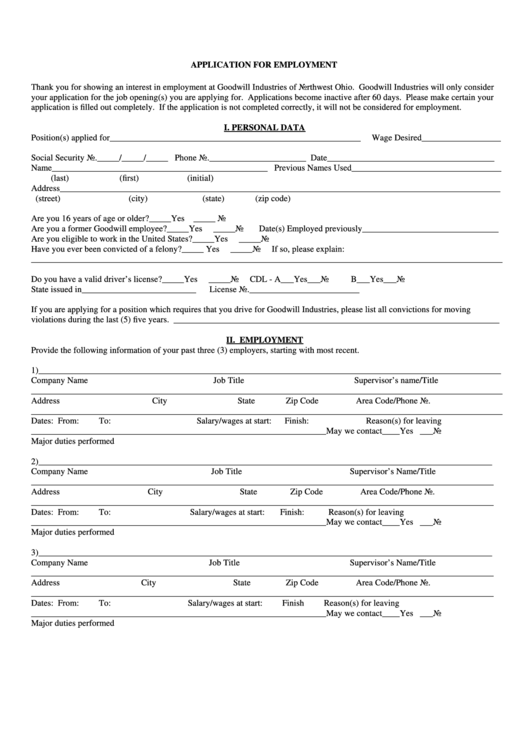 top 11 goodwill job application form online templates free to