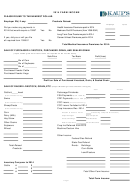 Farm Income Worksheet