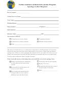Victim Assistance & Restorative Justice Program Apology Letter Request Form
