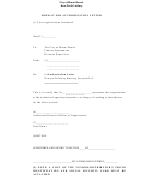 Format For Authorization Letter