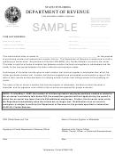 Sample Authorization Letter - Florida Department Of Revenue