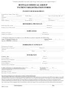 Buffalo Medical Group Patient Registration Form