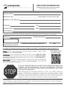 Employer Information Form Uc-1609