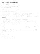 Agent Broker Letter Of Record
