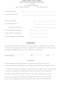 Hotel Motel Tax Collection Form - Hardy County West Virginia