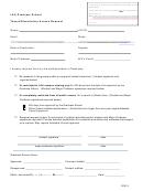 Lsu Graduate School Thesis Dissertation Access Request