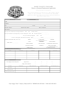 Kane County Cougars Hourly Or Seasonal Employment Application