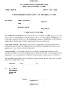 Family Law Civil Bill