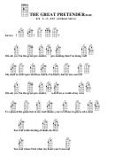 The Great Pretender (bar) Chord Chart