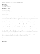 Sample Cover Letter For Biotech Internship