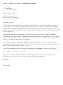 Sample Cover Letter For Biotech Internship