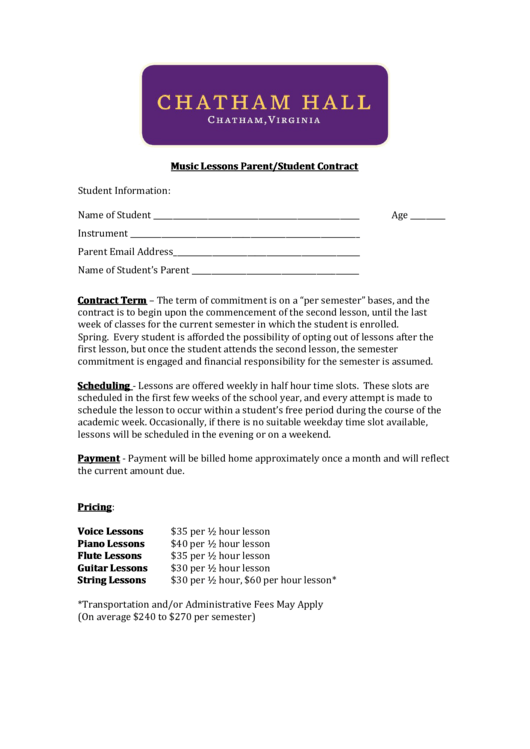 Top 6 Personal Training Contract Templates Free To Download In Pdf