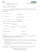 Consent To Release Form