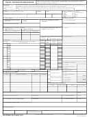 Dd Form 1351-2 - Travel Voucher Or Subvoucher Template