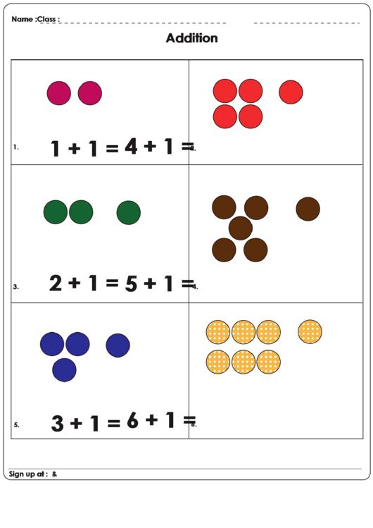 Math Practice Sheets Printable pdf