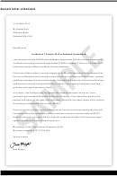 Sample Letter Of Demand Template
