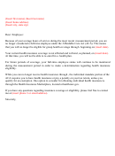 Insurance Cancellation Letter printable pdf download