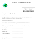 Passport Authorization Letter