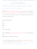 Leased Vehicle Model Agreement Template