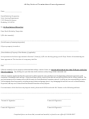 60-day Notice Of Termination Of Lease Agreement