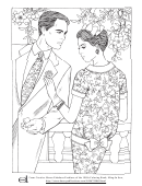 Love Coloring Template