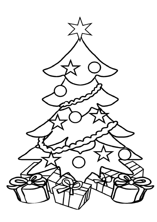 coloring pages pdf format - top 6 christmas tree coloring sheets free to download in