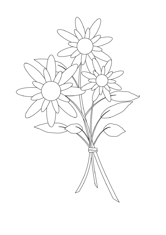 18 Flower Coloring Sheets Free To Download In PDF