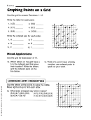 Graphing Points On A Grid Worksheet