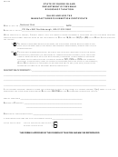 Sales And Use Tax Manufacturer's Exemption Certificate Template