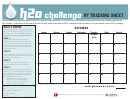H2o Challenge My Tracking Sheet