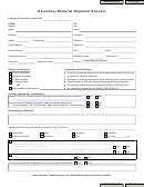 Hazardous Material Shipment Request