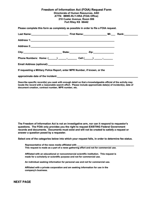66 foia request form templates free to download in pdf fr form 32 freedom of information act foia request form directorate of human maxwellsz