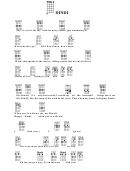 Dindi Chord Chart