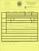 Request To Re-issue A Certificate Of Title