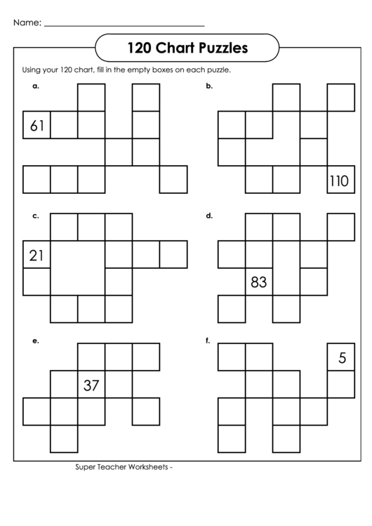 photo about Printable 120 Chart identified as 120 Puzzles Chart With Remedies printable pdf obtain